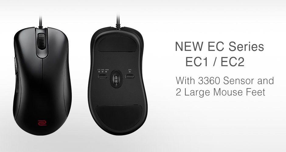 BenQ annuncia la nuova versione del mouse Zowie EC