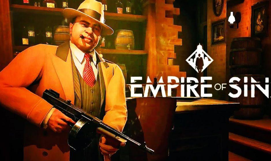 Empire of Sin: Nuovo trailer del gameplay