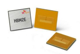 SK Hynix Memoria HBM2E, 460 GB/s e 16GB per Stack