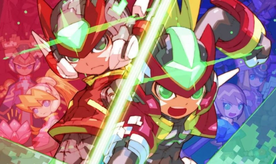 Mega Man Zero/ZX Legacy Collection compare sul PS Store