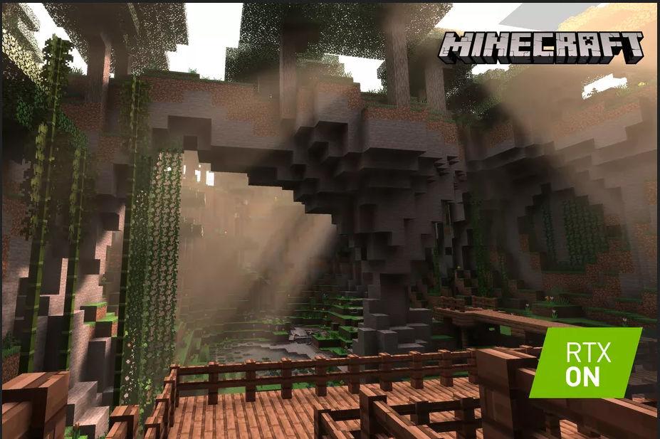 Minecraft ray-tracing Nvidia