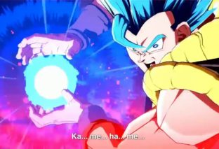 Dragon Ball FighterZ: Gogeta SSGSS in azione