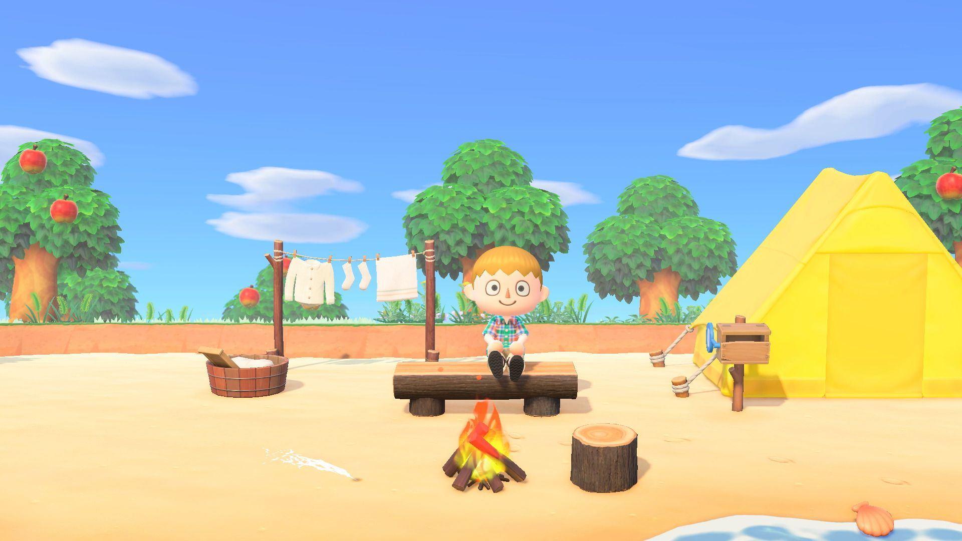 Animal Crossing New Horizons isola deserta