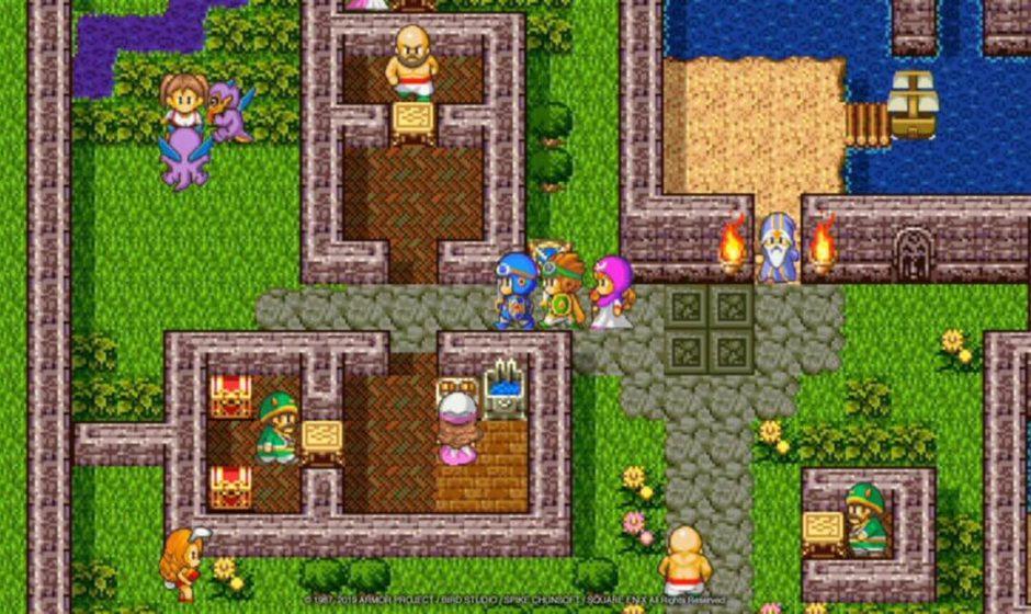 Dragon Quest: ora i giochi classici sono su Switch