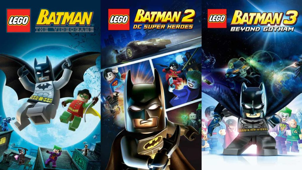 LEGO Batman Trilogy Gratis Epic Games Store