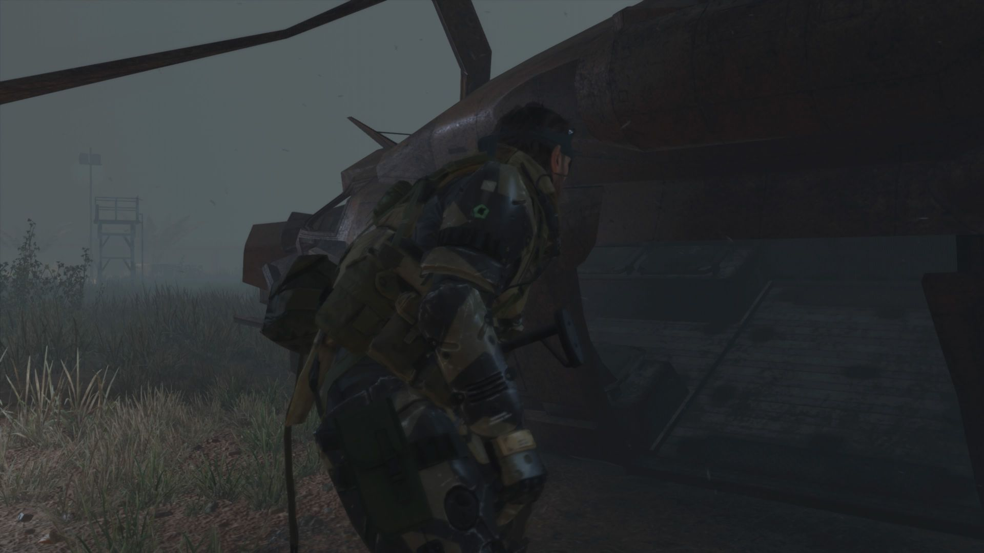 Metal Gear Solid V elicottero missione 29