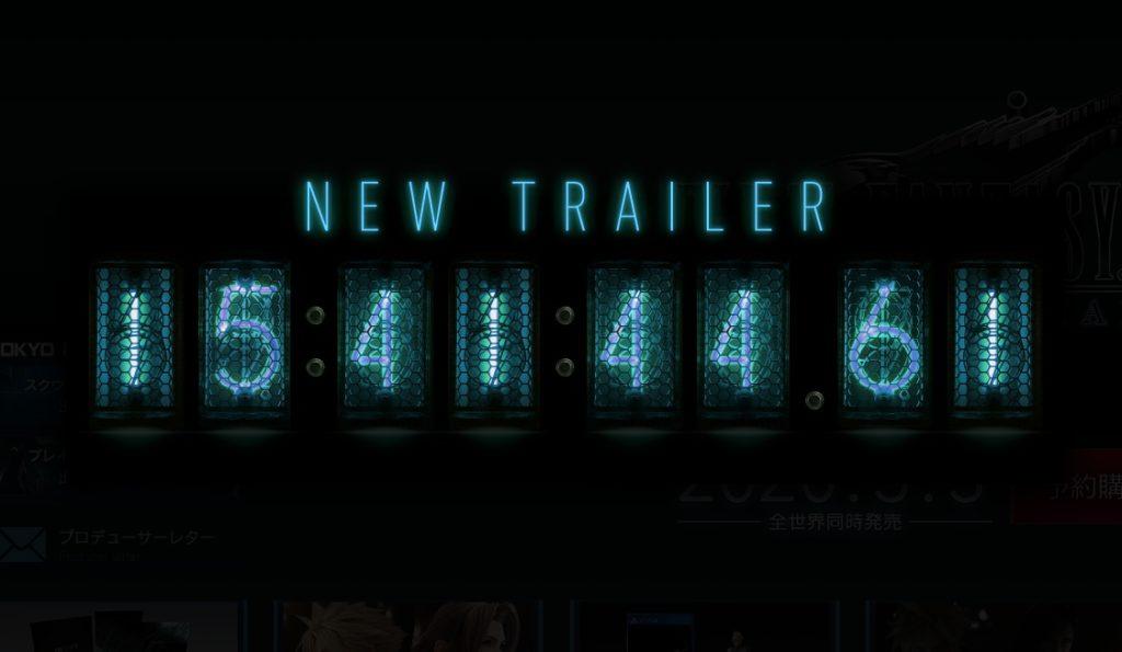 Final Fantasy VII Remake Trailer