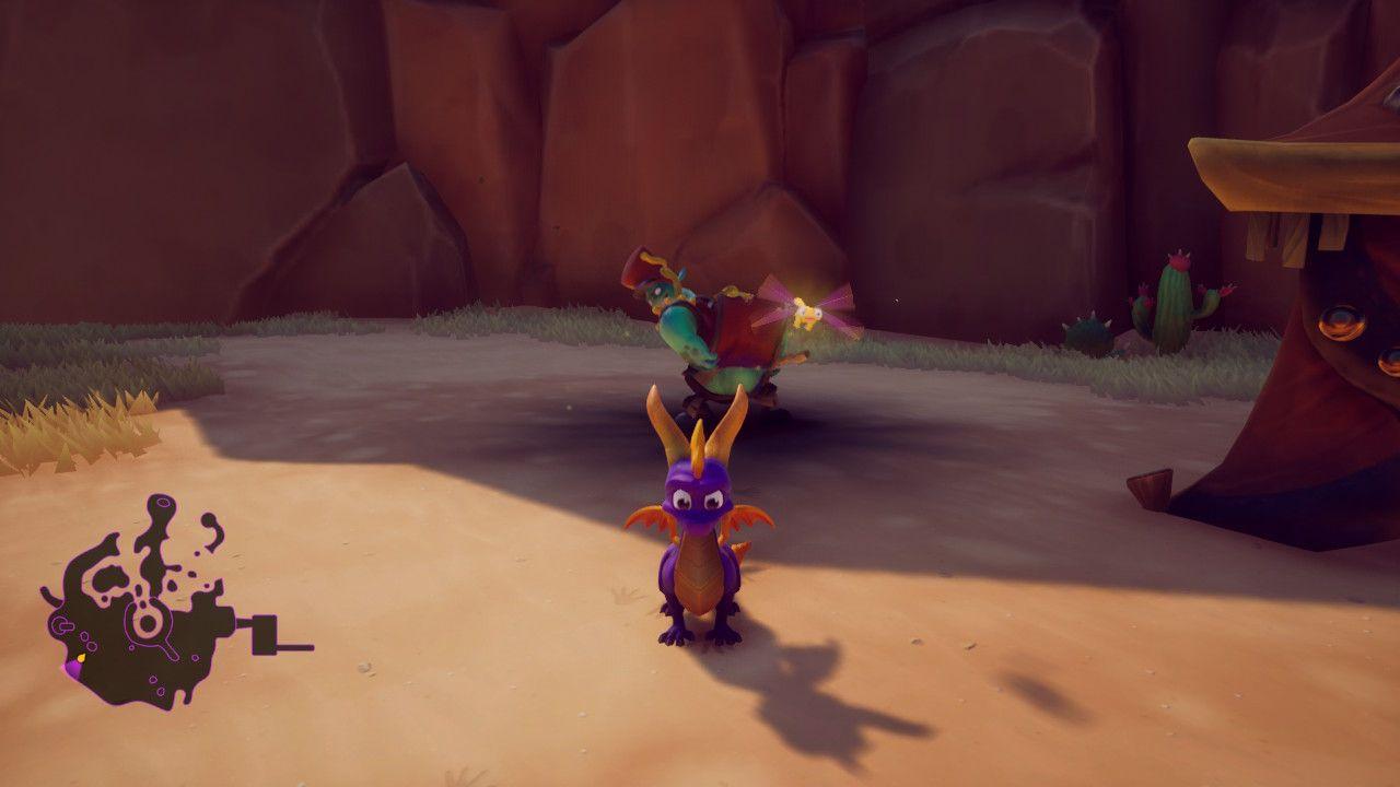 Spyro Reignited Trilogy Switch nemico