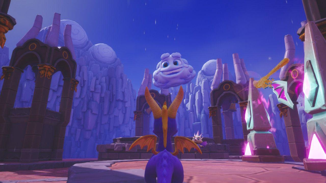 Spyro Reignited Trilogy Switch nuvola
