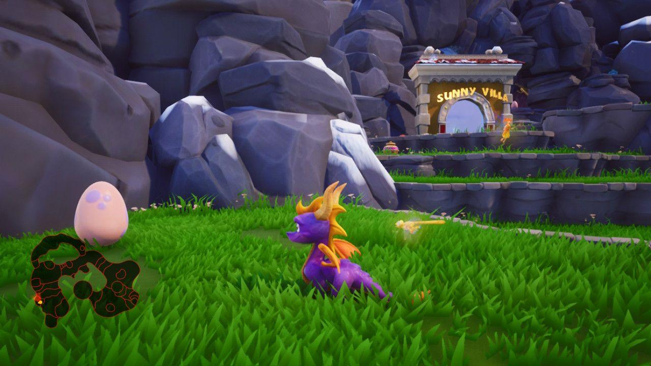 Spyro Reignited Trilogy Switch uovo