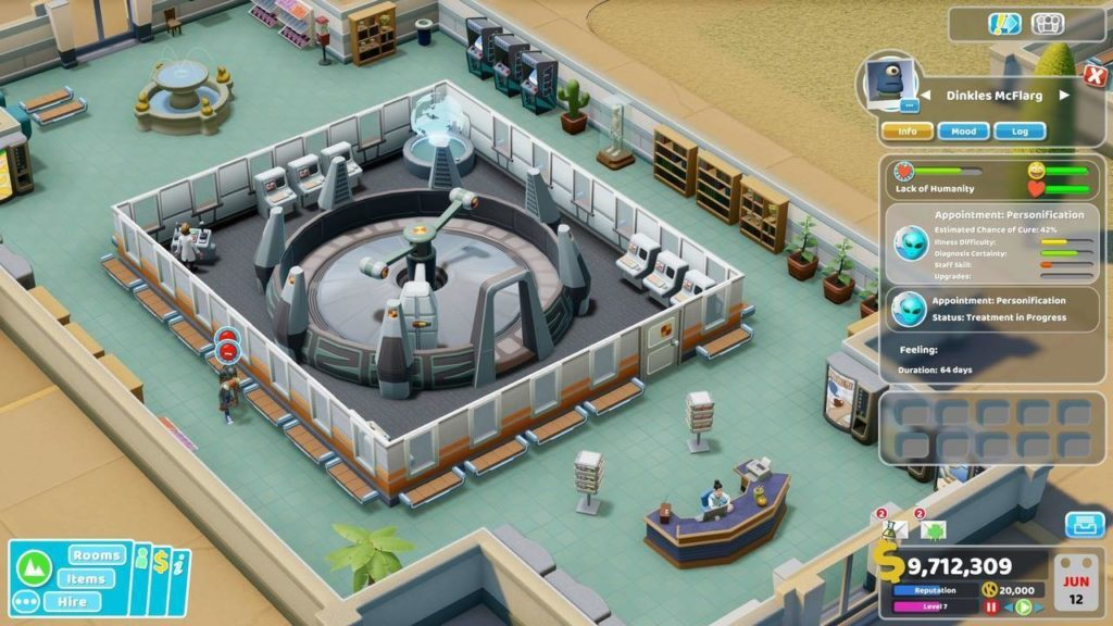 Two Point Hospital Incontri ravvicinati