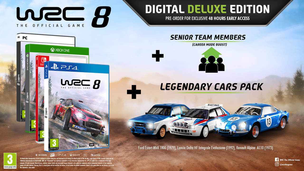 WCR 8 Digital Deluxe Edition