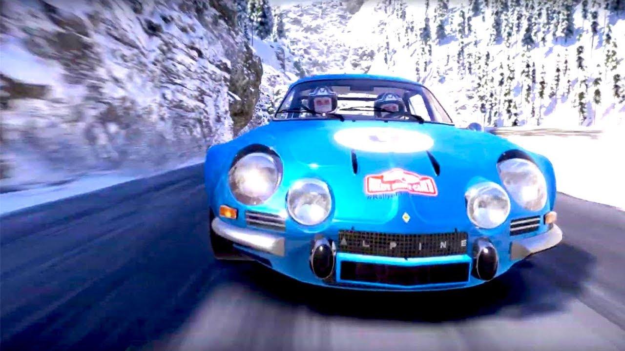 WRC 8 Alpine A110