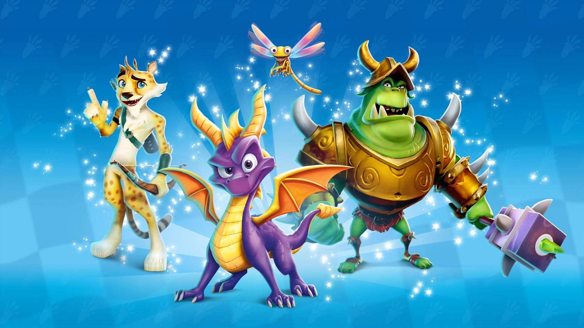 CTR personaggi Spyro