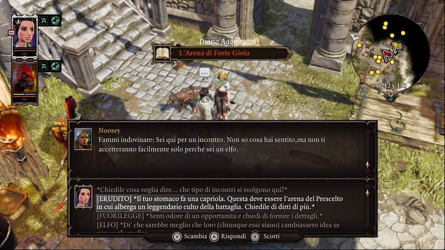 Divinity: Original Sin II - Definitive Edition: Recensione Nintendo Switch