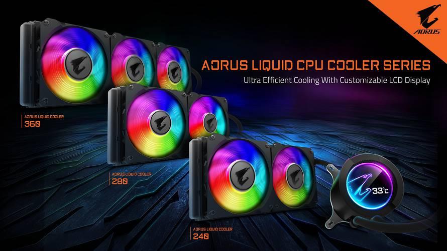 Gigabyte annuncia AORUS Liquid Cooler