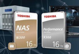 Toshiba lancia N300 e X300 da 16TB all'IFA 2019