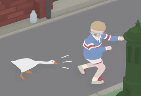 Untitled Goose Game - Gli obiettivi nei Cortili