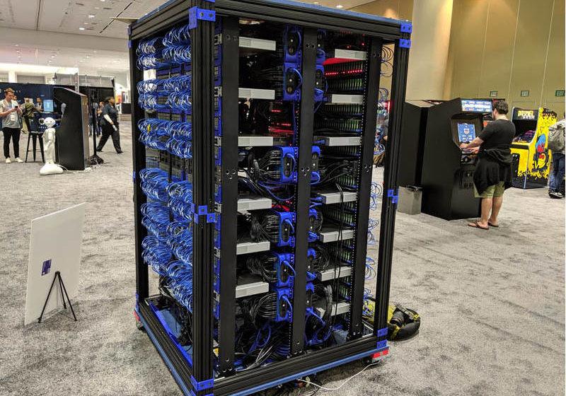 Oracle Raspberry PI cluster - 1060 SBC di potenza