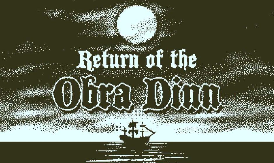 Return of the Obra Dinn: ecco la data d'uscita su console