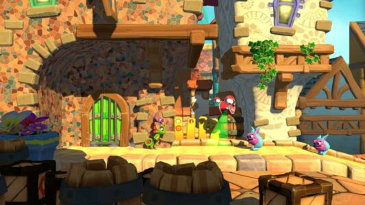 Yooka-Laylee and the Impossible Lair – Provato