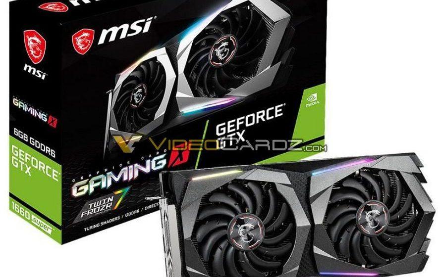 Scovate immagini della MSI GTX 1660 SUPER Gaming X