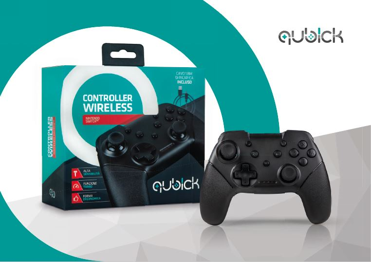 Cidiverte Qubick Nintendo Switch