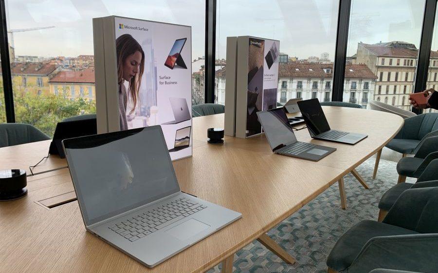 Microsoft: provati i nuovi Surface