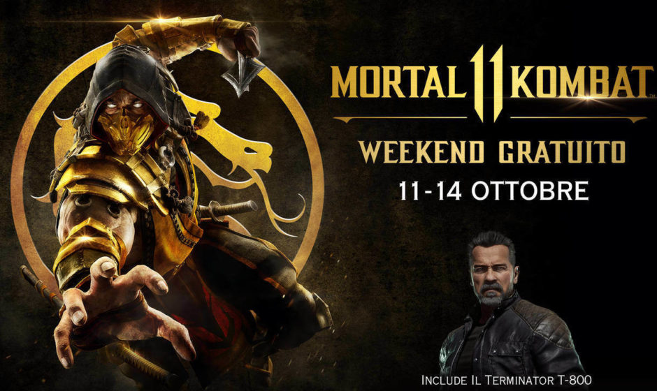 Mortal Kombat 11: un weekend di prova gratuita