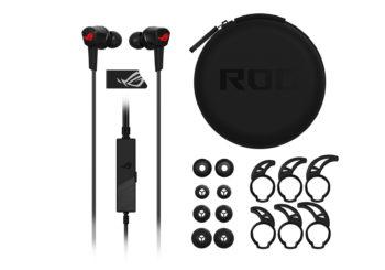 ASUS: disponibili le nuove cuffie in-ear ROG Cetra
