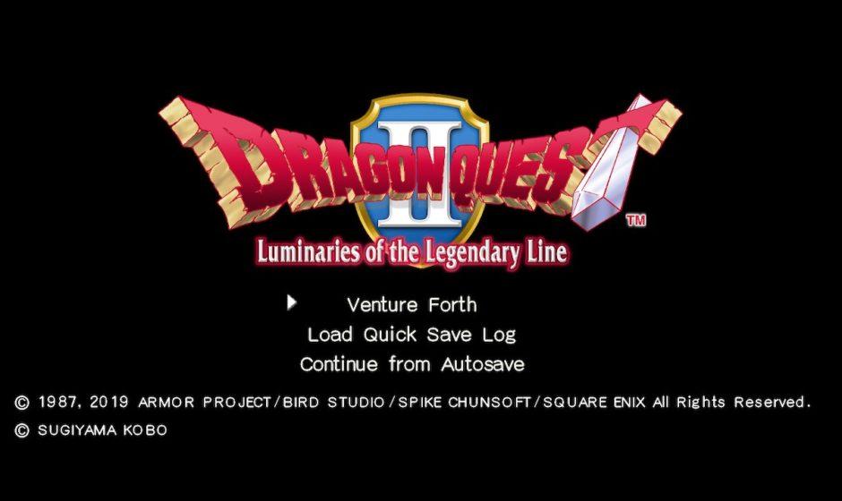 Dragon Quest II - Recensione