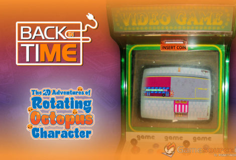 Back in Time - The 2D Adventures of Rotating Octopus Character