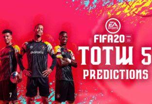 FIFA 20 TOTW 5, le predictions