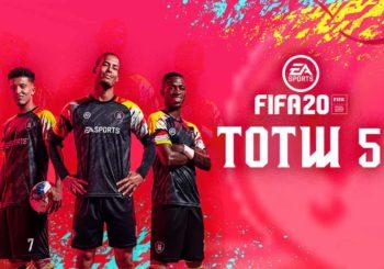 FIFA 20 TOTW 5, la nuova Squadra della Settimana