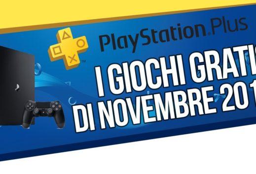 PlayStation Plus giochi di novembre