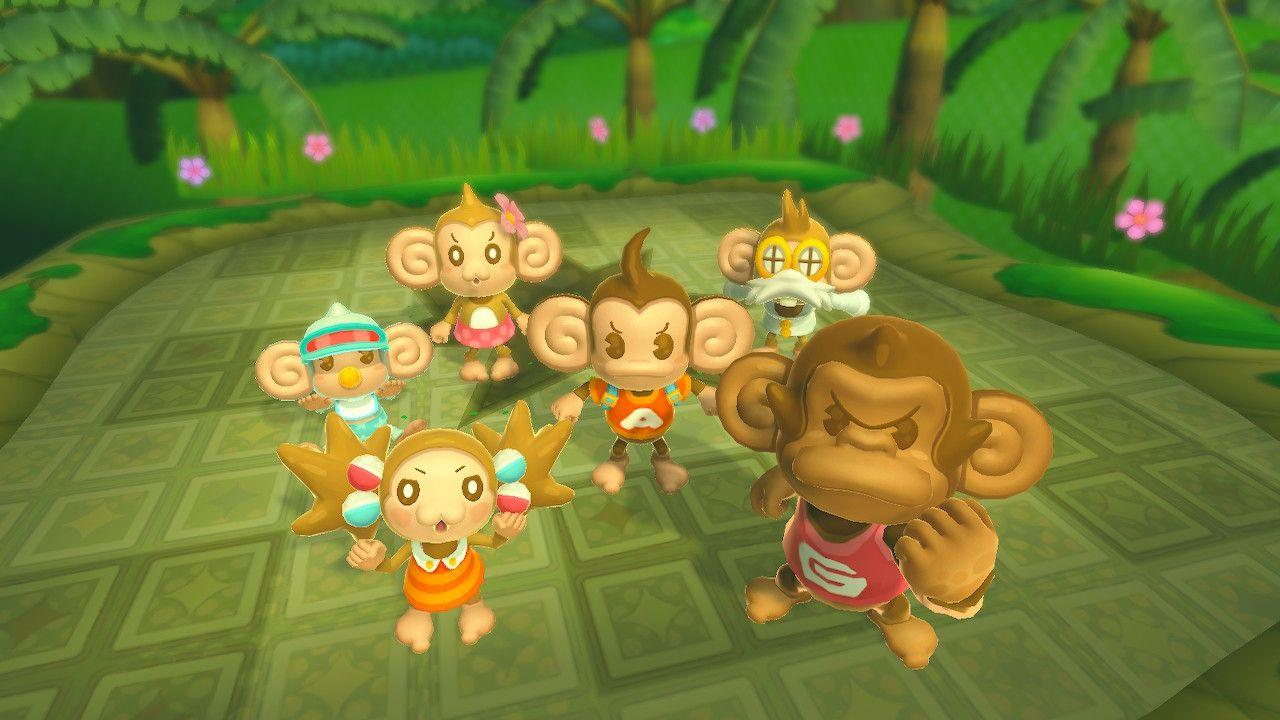 Super Monkey Ball HD personaggi