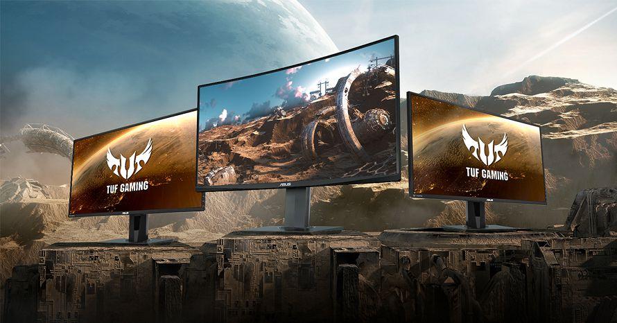 Nuovi monitor ASUS TUF Gaming arrivano in Italia