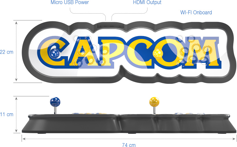 Capcom Home Arcade disponibile