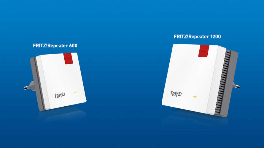 AVM presenta Due nuovi FRITZ! Repeater