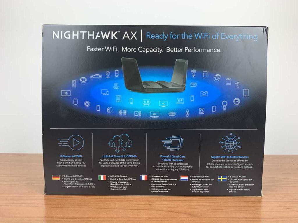 Netgear Nighthawk AX8 RAX80