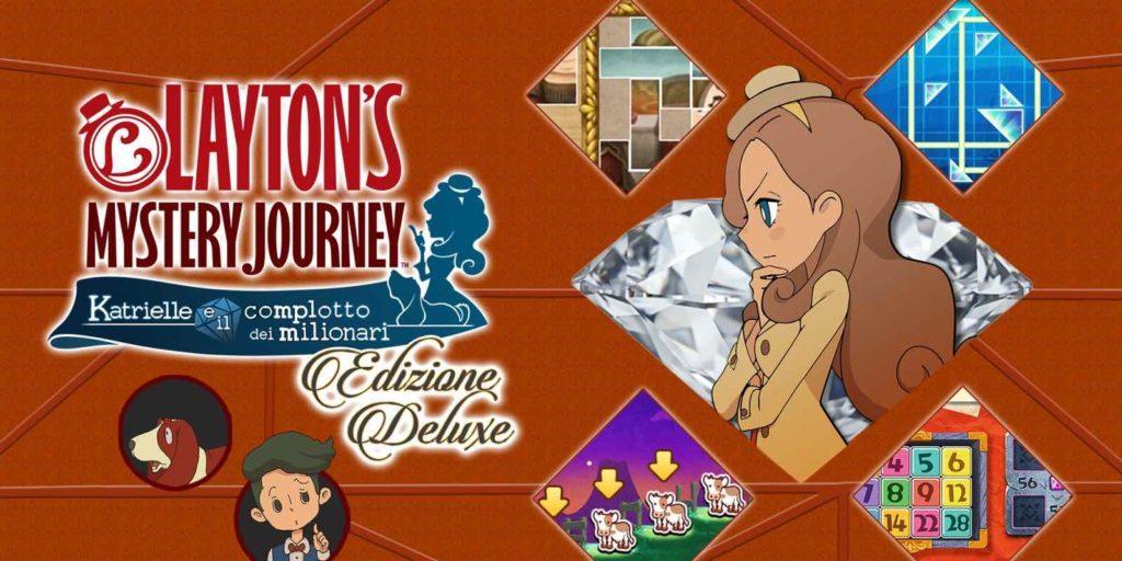 Layton's Mystery Journey: Katrielle e il complotto dei milionari - Edizione Deluxe
