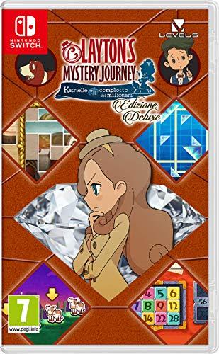 Cover Layton's Mystery Journey: Katrielle e il complotto dei milionari – Edizione Deluxe