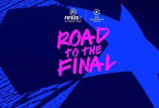 FIFA 20, inizia l'evento UCL Road to the Final