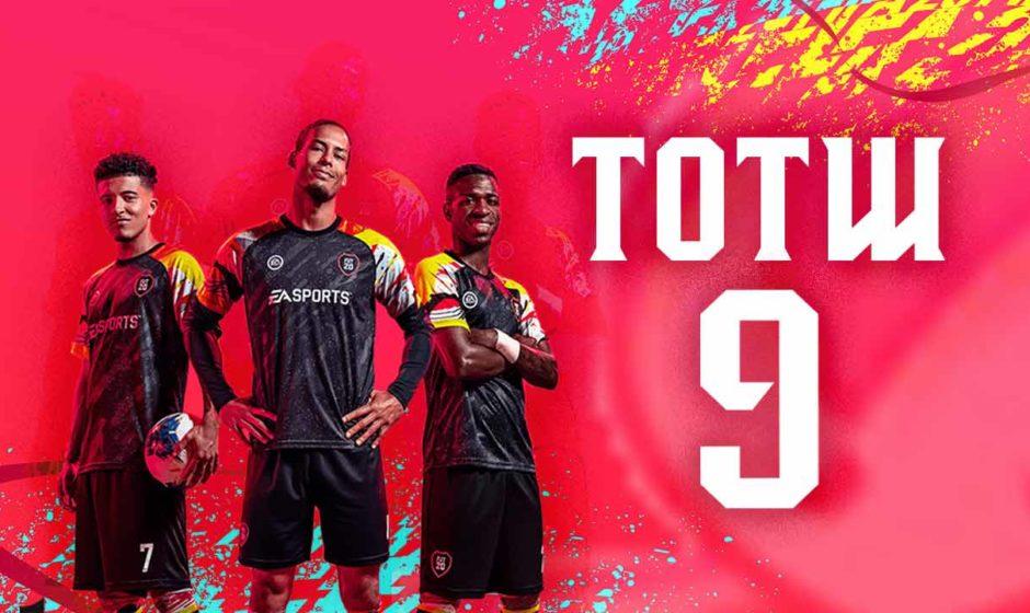 FIFA 20 TOTW 9, la nuova Squadra della Settimana