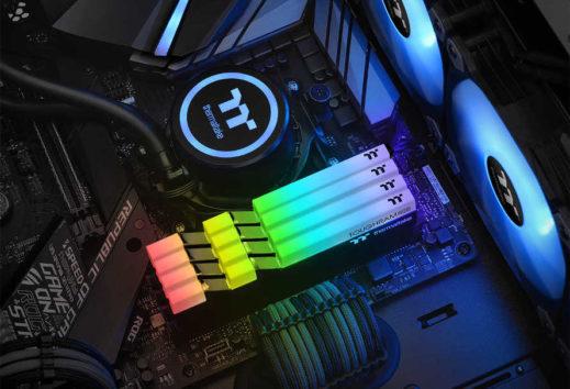THERMALTAKE annunica la linea TOUGHRAM RGB DDR4