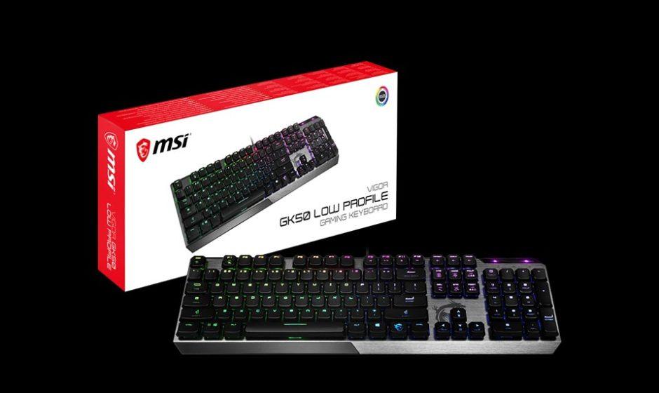 MSI - Tastiera meccanica Vigor GK50 Low-Profile