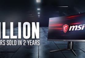 MSI raggiunge quota 1 milioni di monitor venduti