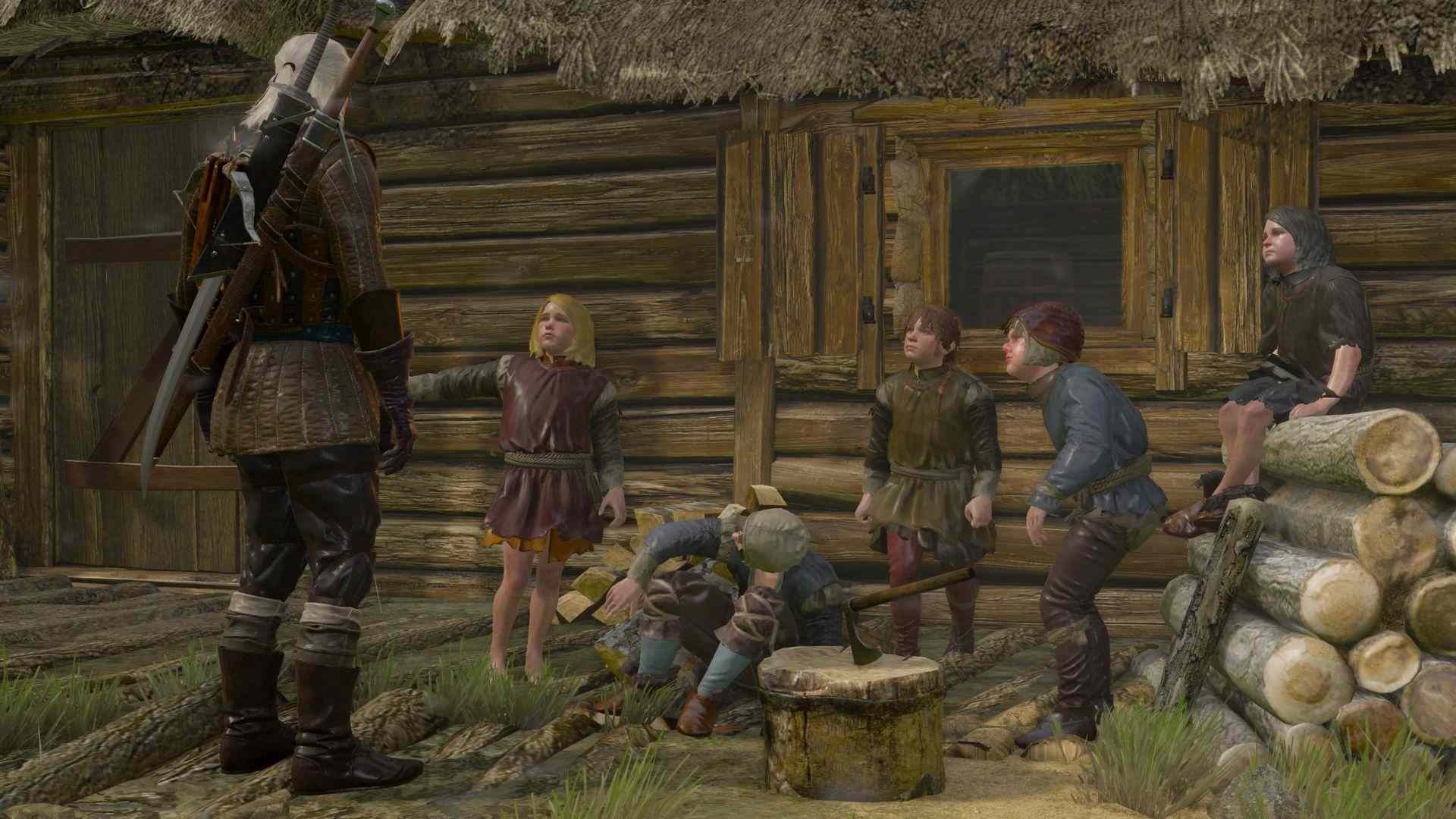 witcher 3 povertà