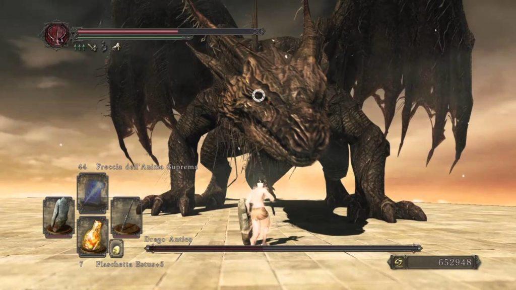 Dark Souls drago antico