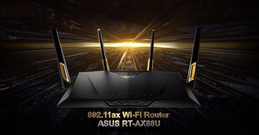 ASUS RT-AX88U certificato come router Wi-Fi 6